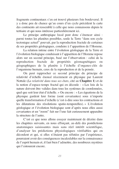 p23 Du principe anthropique à l'homme p21 Agence bb communication